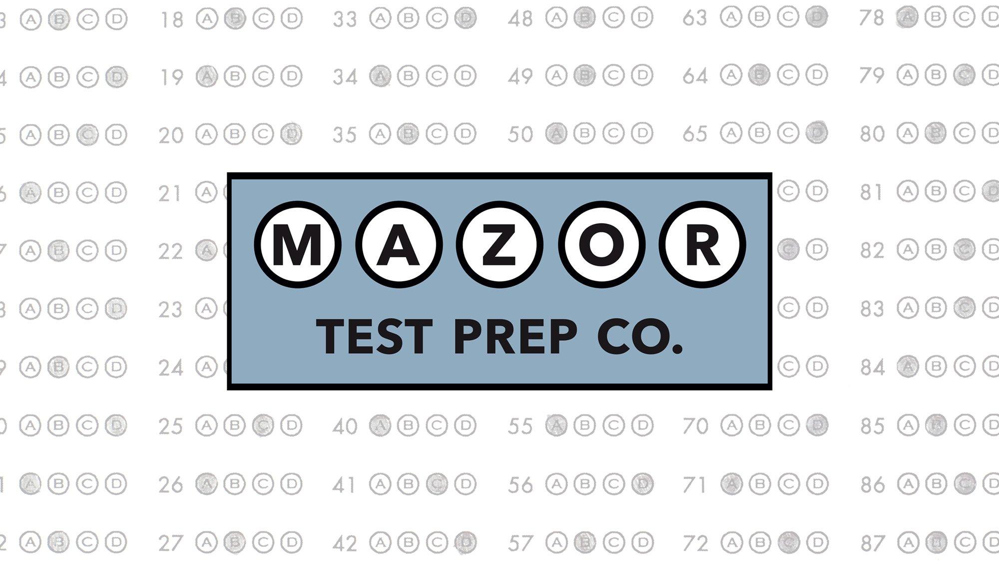 Mazor Test Prep Logo